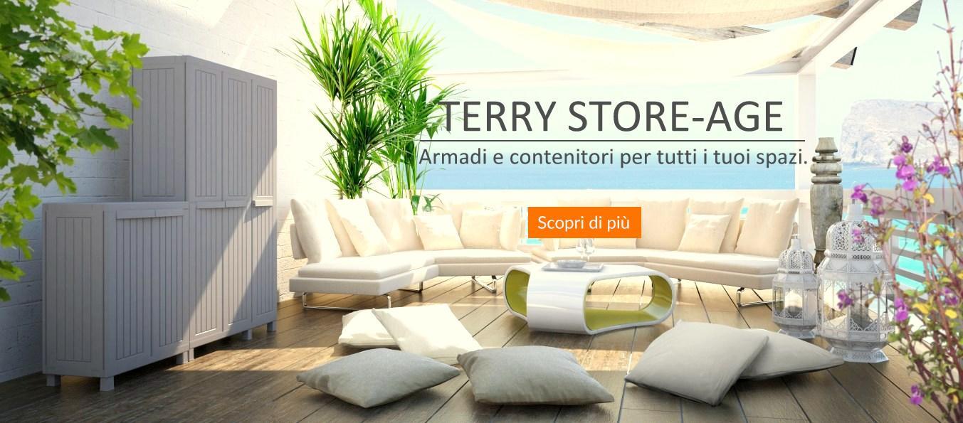 promozione sistemazione Terry Storage