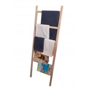 Scaletta portasalviette in legno naturale  ITALIADOC