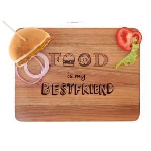 Tagliere Food is my Bestfriend  ENGRAVED HOUSE