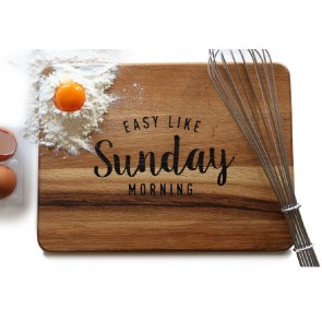 Tagliere Sunday Morning  ENGRAVED HOUSE
