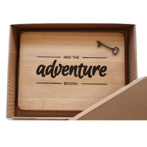 Tagliere The Adventure Begins  ENGRAVED HOUSE