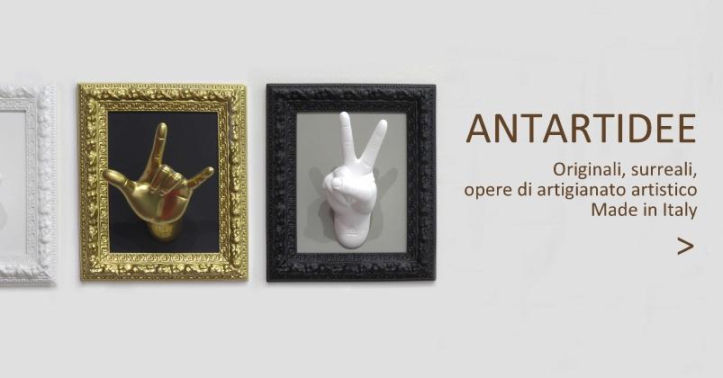 Antartidee artigianato artistico made in italy
