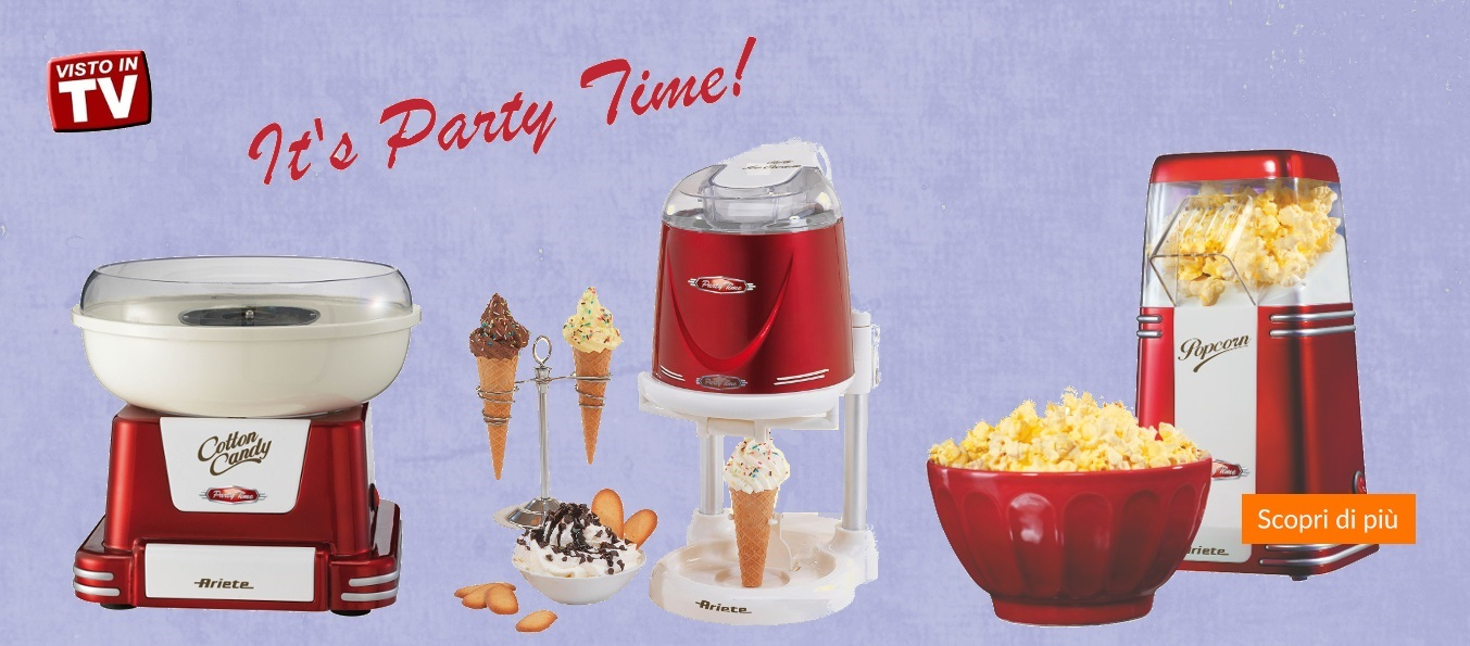party time, carnevale, ariete, cucina,promozioni
