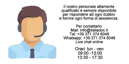 Italiadoc - Assistenza Clienti