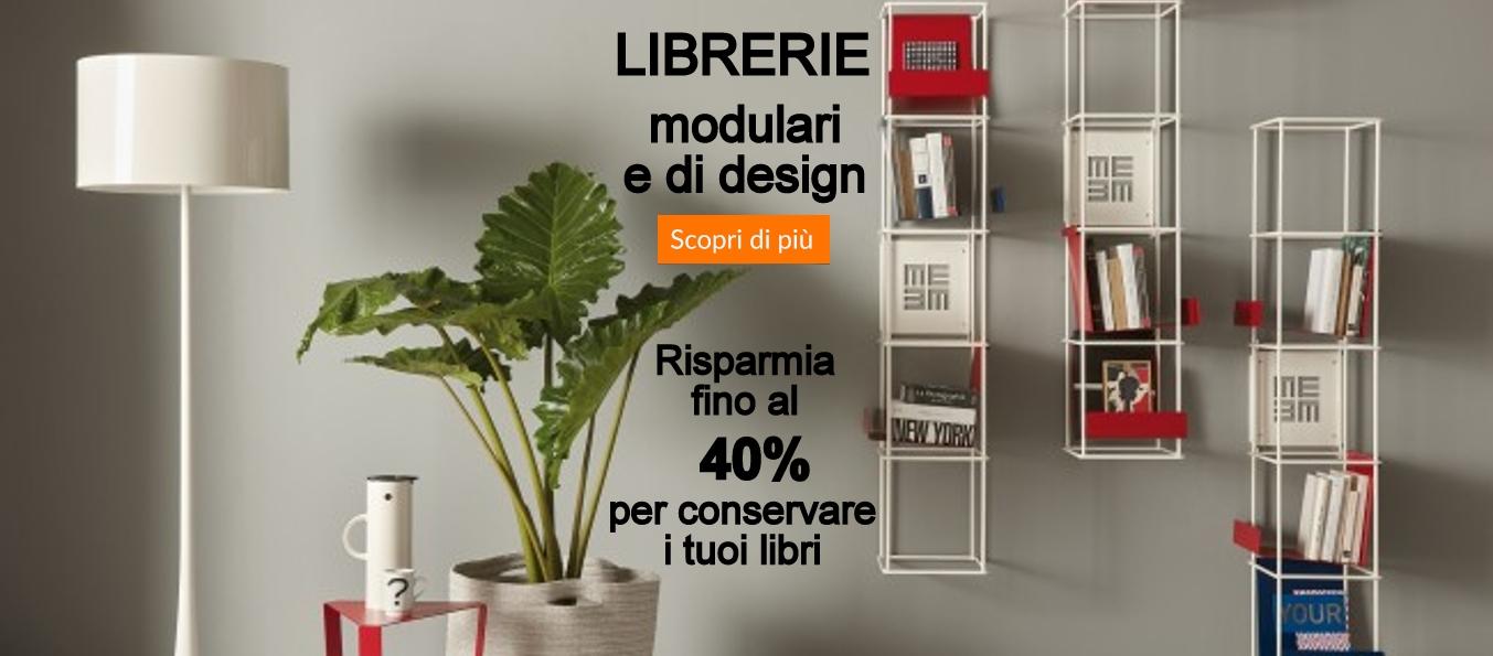 Librerie modulre e di design